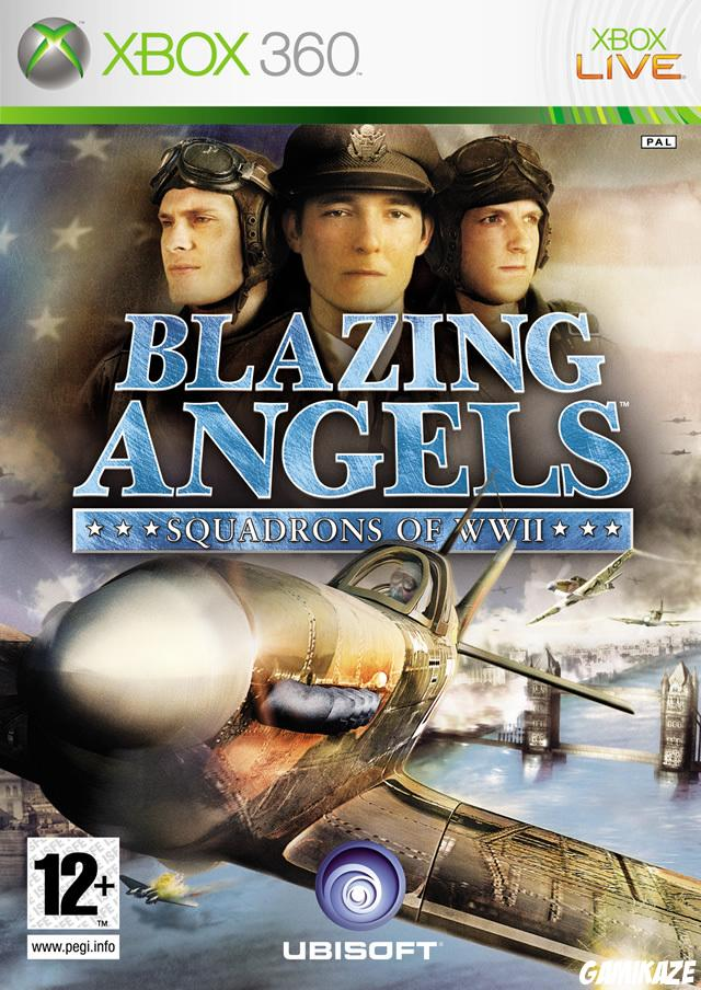 cover Blazing Angels : Squadrons of WWII x360