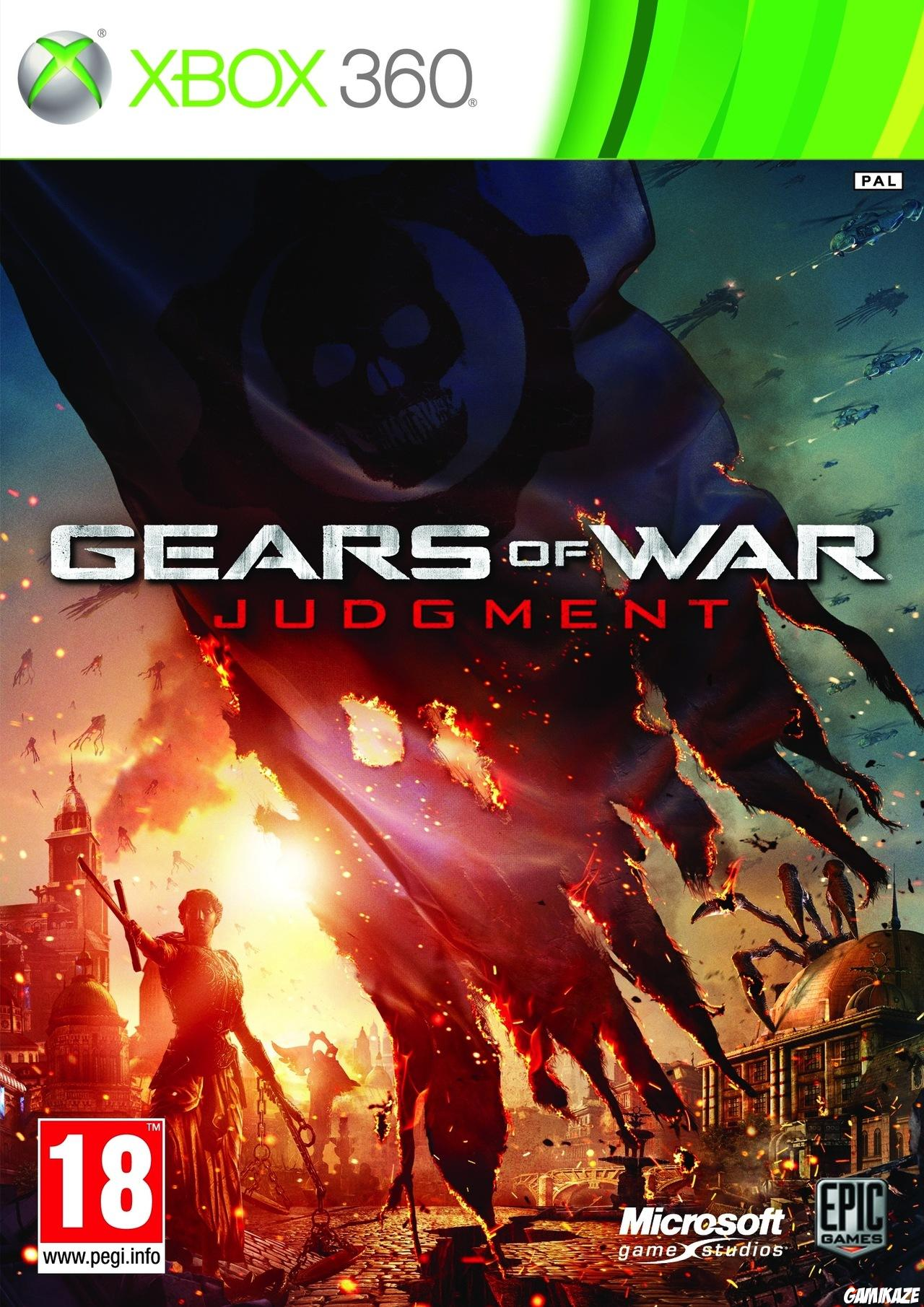 cover Gears of War Judgment x360