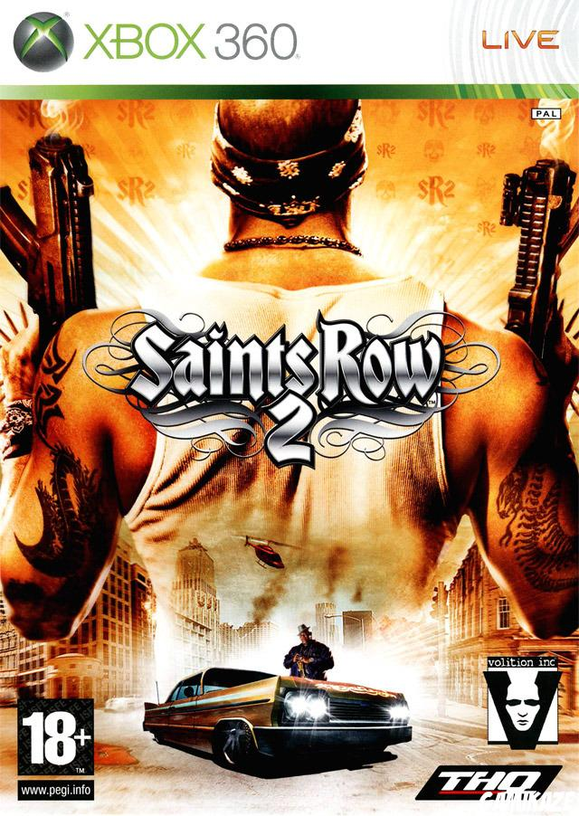 cover Saints Row 2 x360