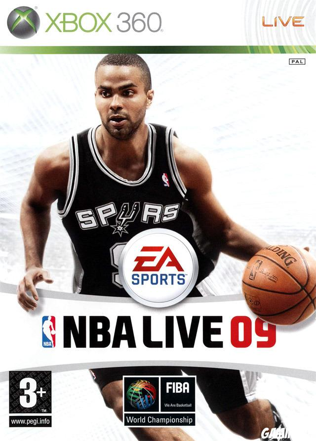 cover NBA Live 09 x360