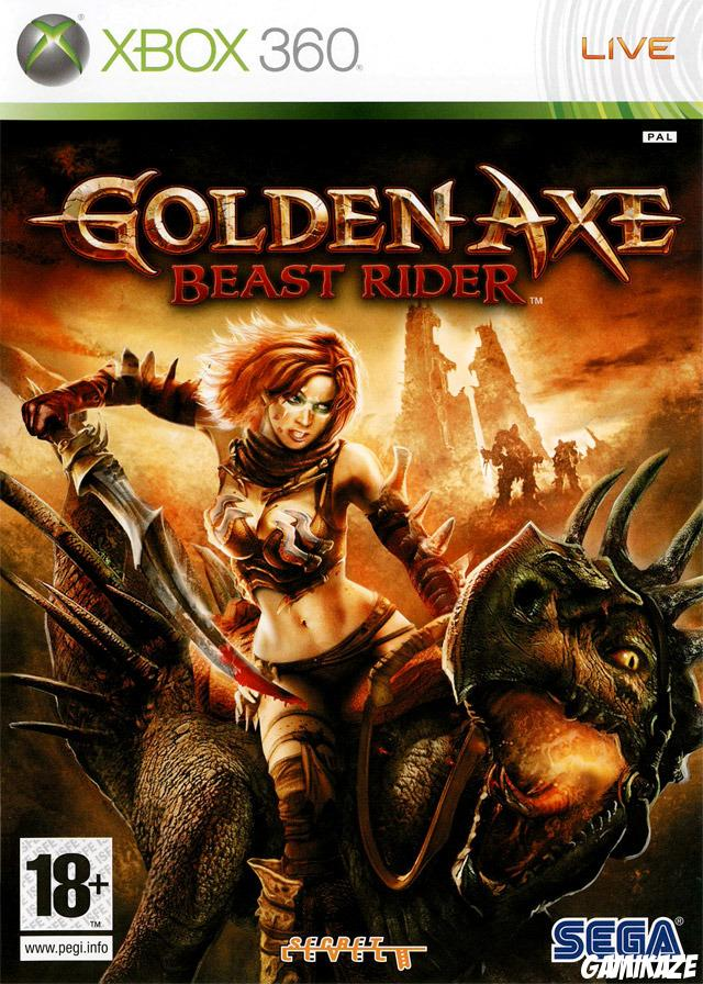 cover Golden Axe : Beast Rider x360