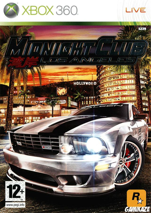 cover Midnight Club : Los Angeles x360
