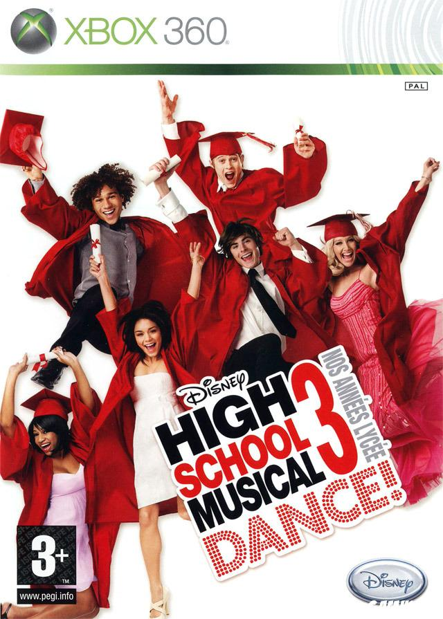 cover High School Musical 3 Dance ! Nos Années Lycée x360