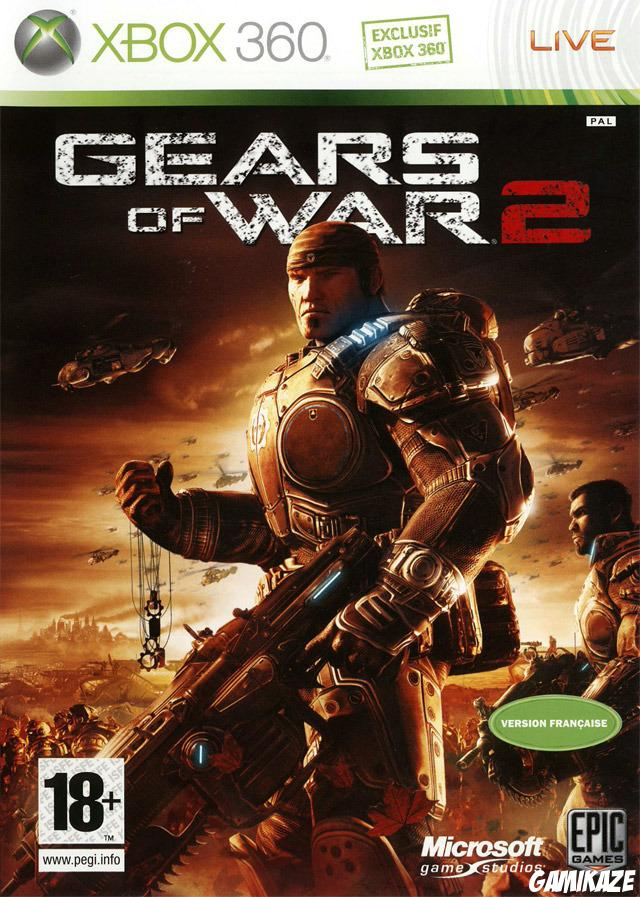 cover Gears of War 2 x360
