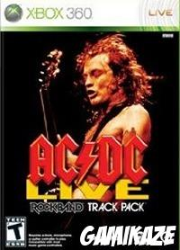 cover AC/DC Live : Rock Band Track Pack x360