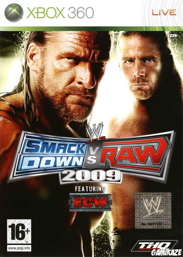 cover WWE Smackdown vs Raw 2009 x360