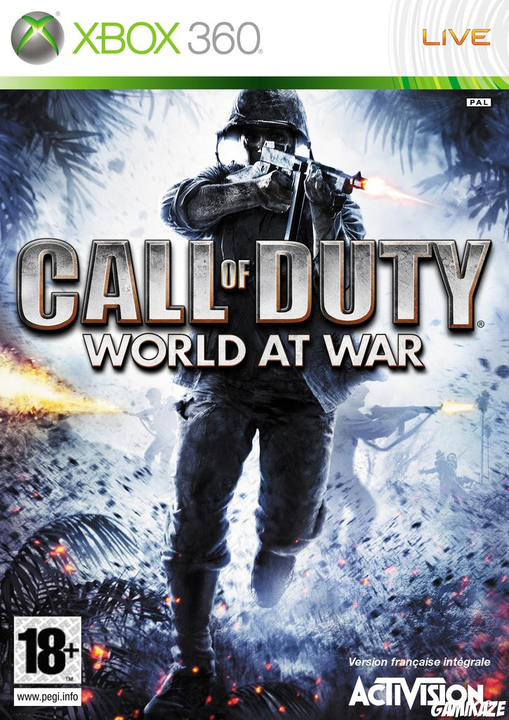 cover Call of Duty : World at War x360