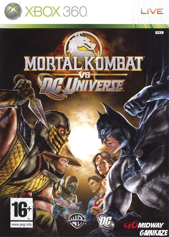 cover Mortal Kombat vs DC Universe x360