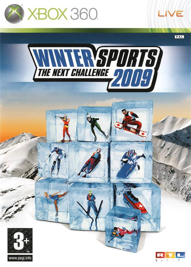 cover Winter Sports 2009 : The Next Challenge x360