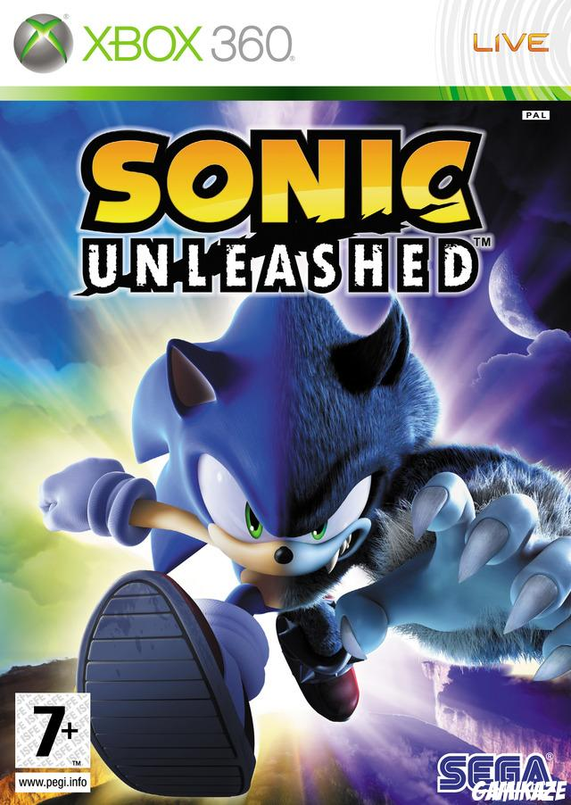cover Sonic Unleashed x360
