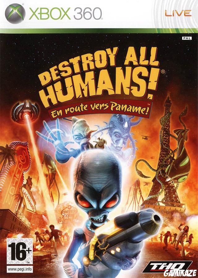 cover Destroy All Humans ! En Route Vers Paname ! x360