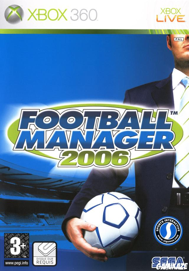 cover Football Manager 2006 x360