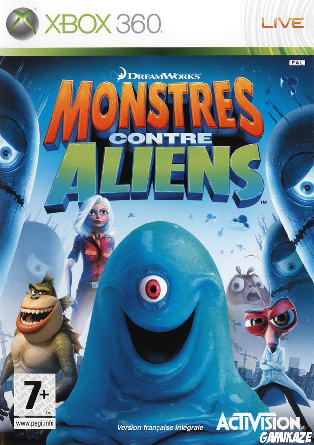 cover Monstres contre Aliens x360