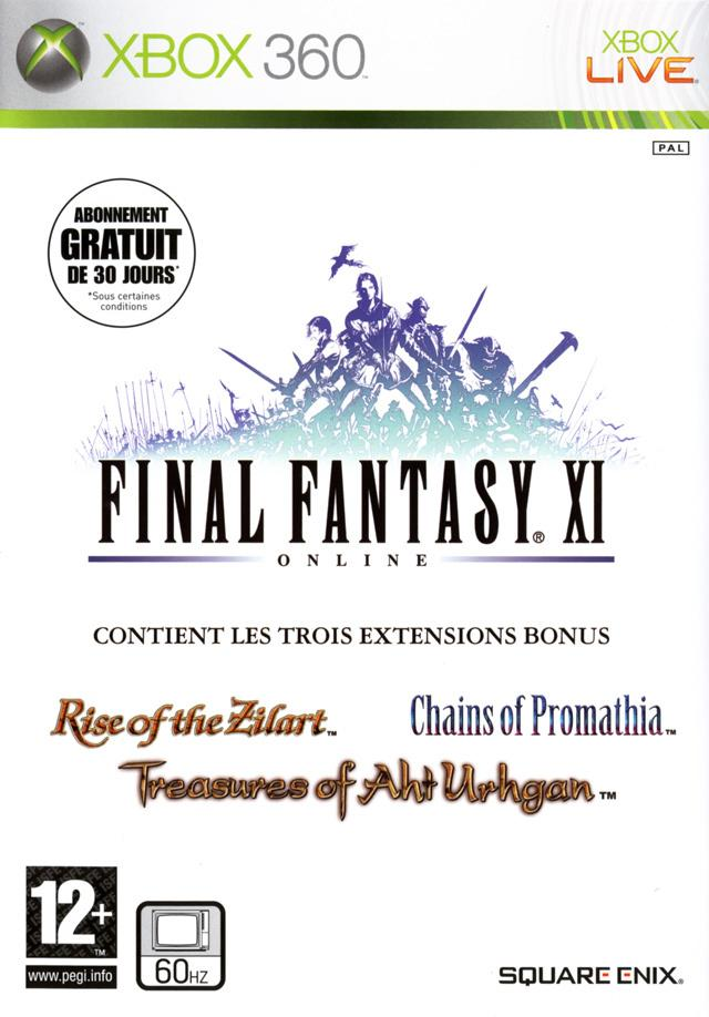 cover Final Fantasy XI Online x360