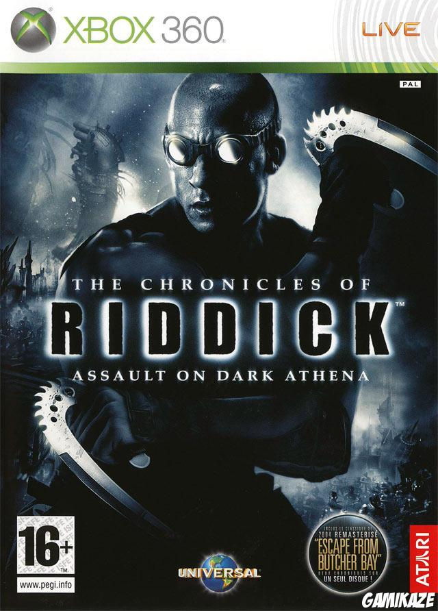 cover The Chronicles of Riddick : Assault on Dark Athena x360