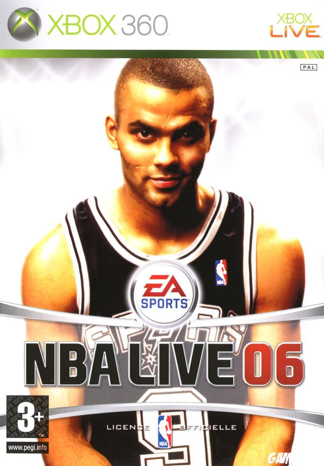 cover NBA Live 06 x360