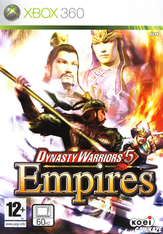 cover Dynasty Warriors 5 : Empires x360