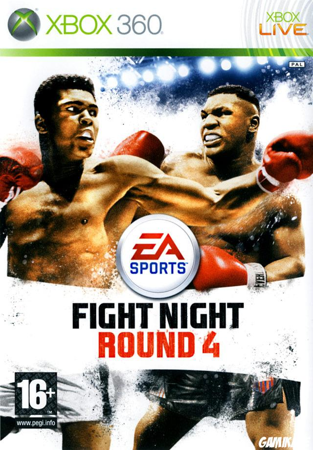 cover Fight Night : Round 4 x360