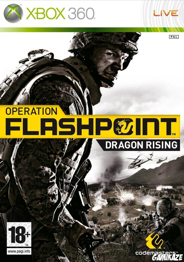 cover Operation Flashpoint : Dragon Rising x360