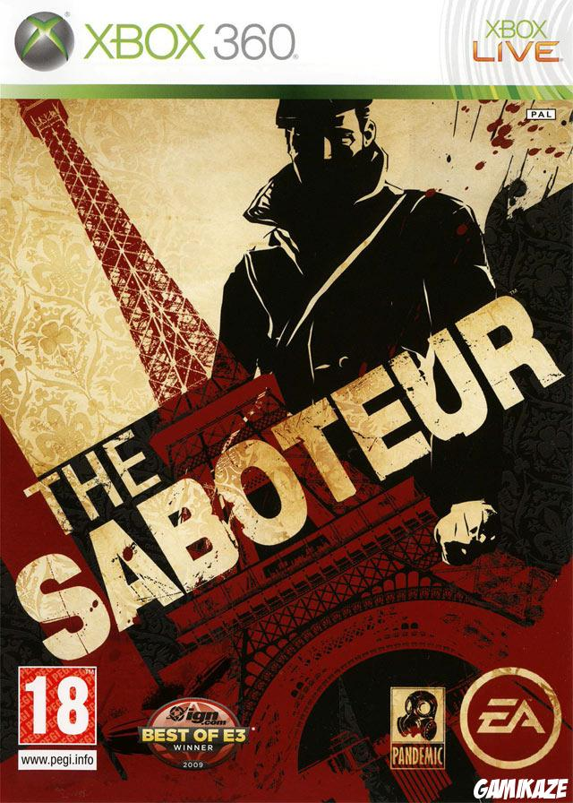 cover The Saboteur x360