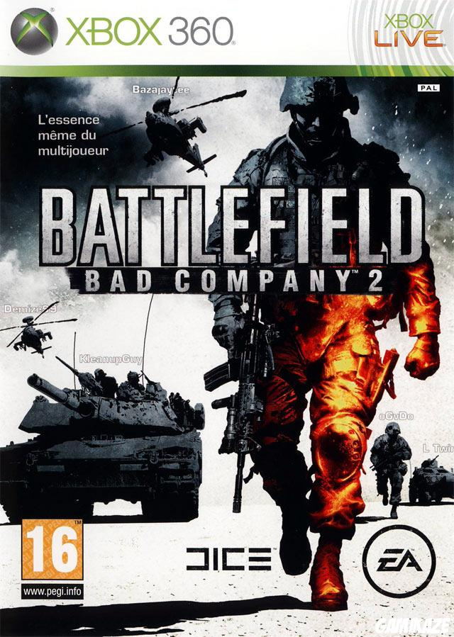 cover Battlefield : Bad Company 2 x360