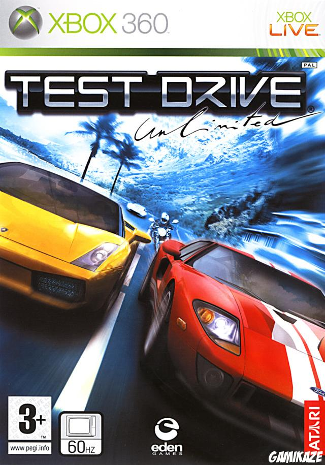 cover Test Drive Unlimited x360