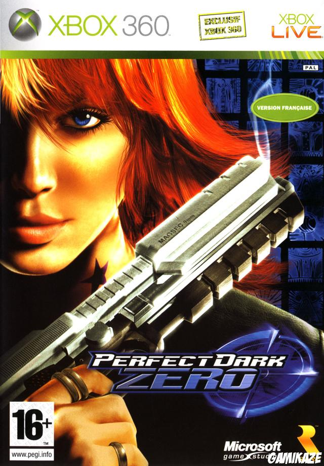 cover Perfect Dark Zero x360