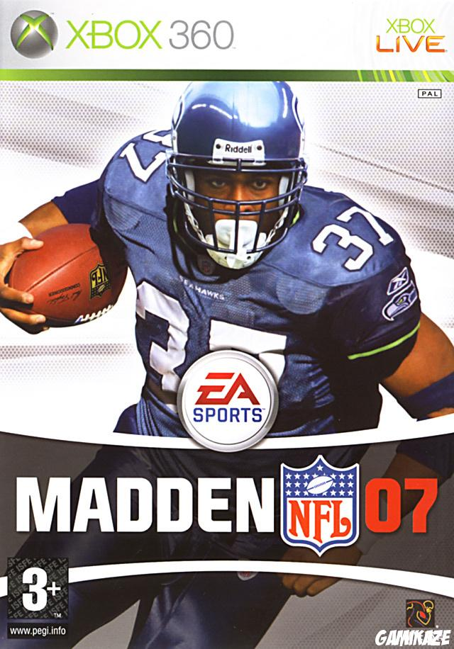 cover Madden NFL 07  x360