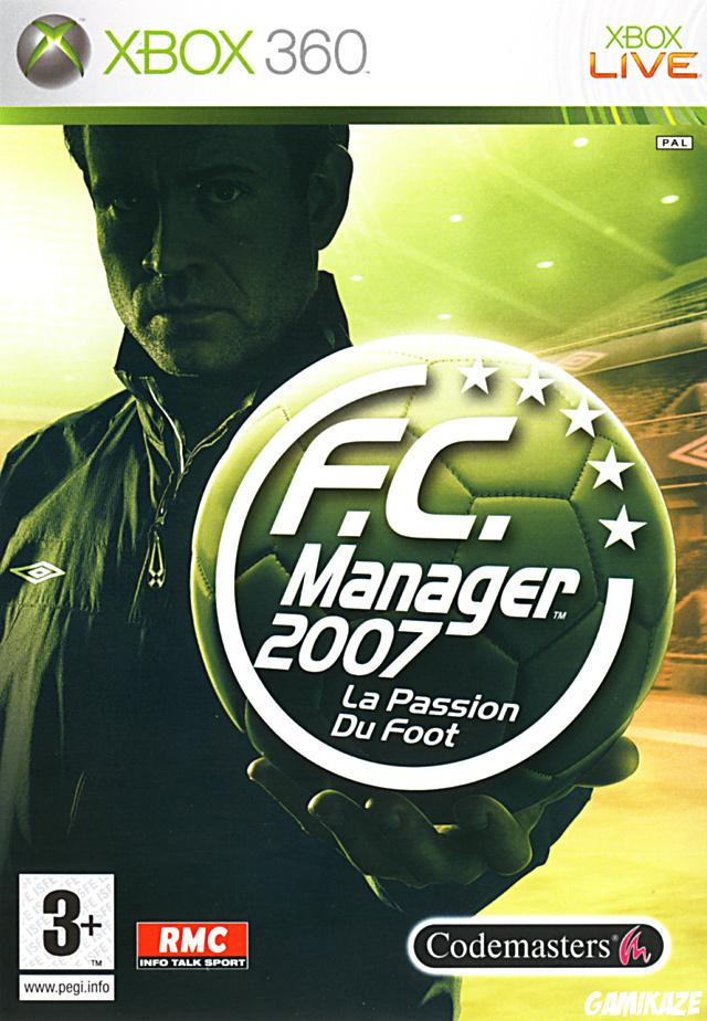 cover F.C. Manager 2007 x360