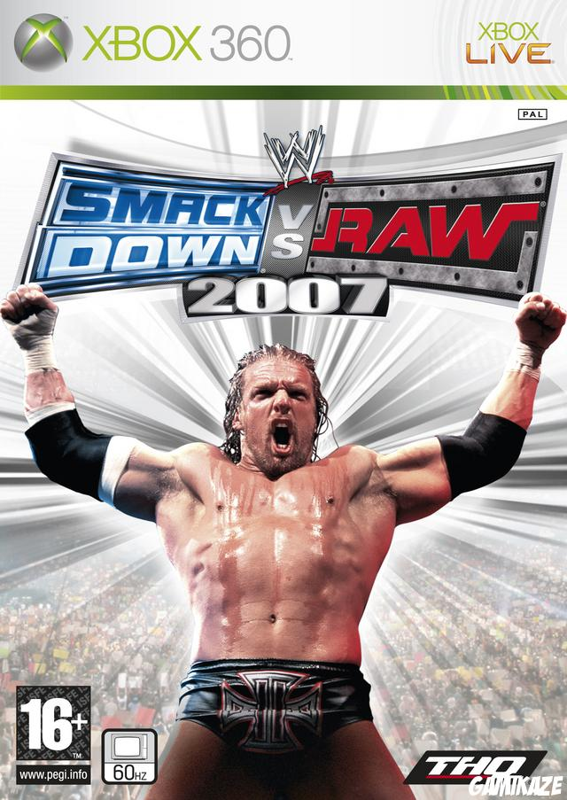 cover WWE Smackdown vs Raw 2007 x360
