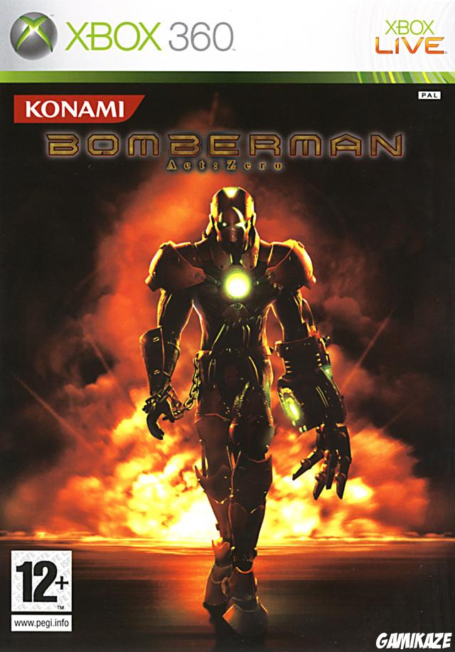 cover Bomberman Act : Zero x360