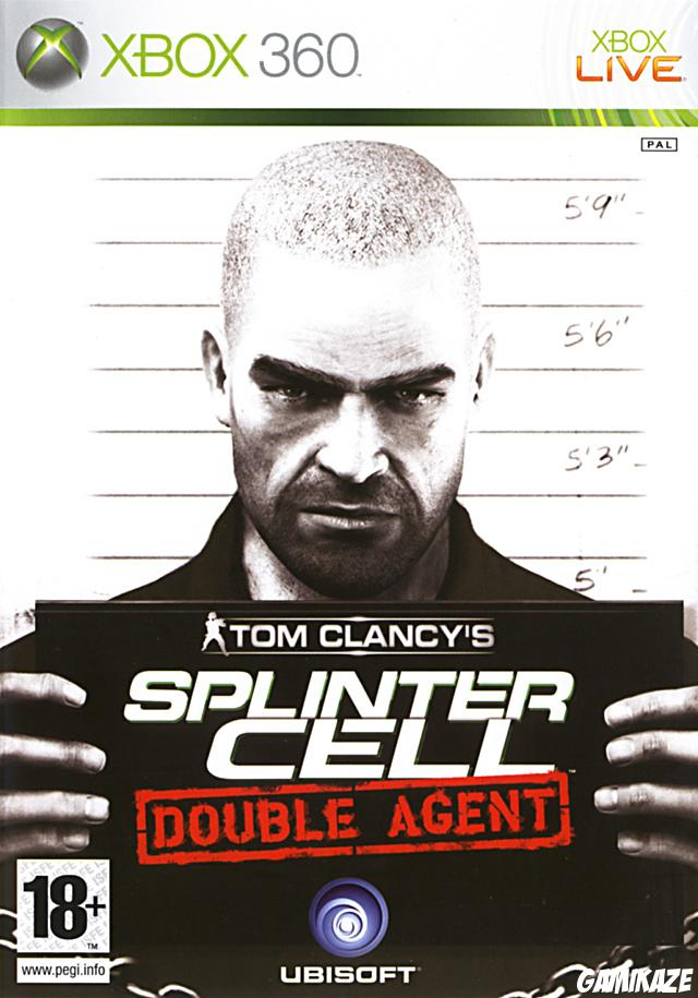 cover Splinter Cell Double Agent x360