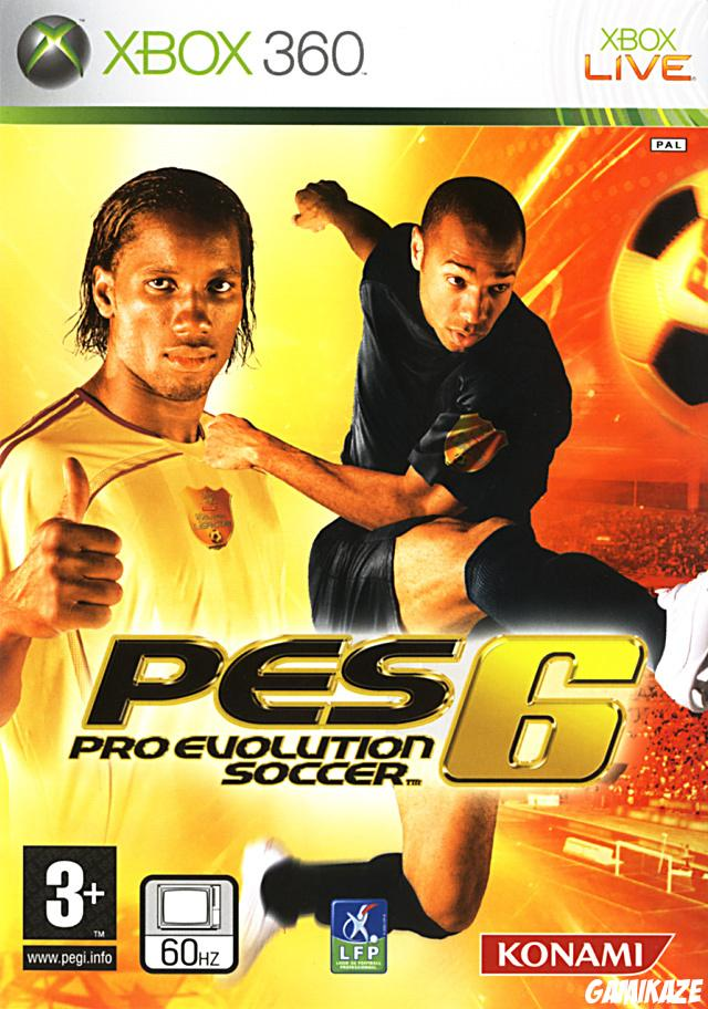 cover Pro Evolution Soccer 6 x360