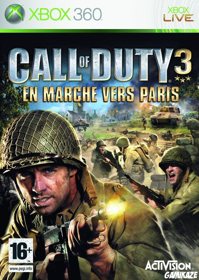cover Call of Duty 3 : En Marche vers Paris x360