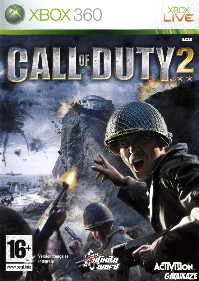 cover Call Of Duty 2 x360