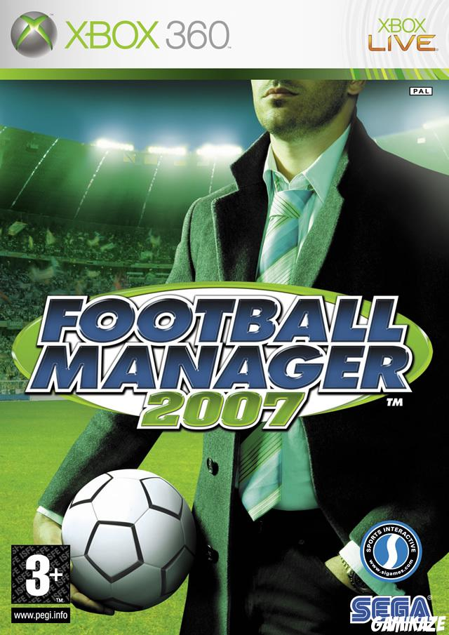 cover Football Manager  2007 x360