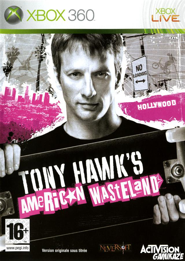 cover Tony Hawk's American Wasteland x360