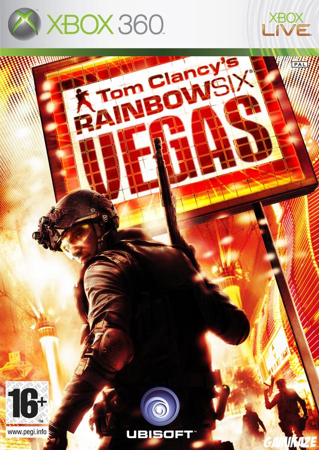 cover Rainbow Six Vegas x360