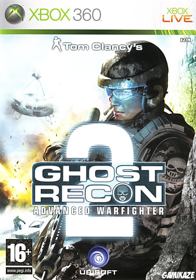 cover Ghost Recon Advanced Warfighter 2 x360