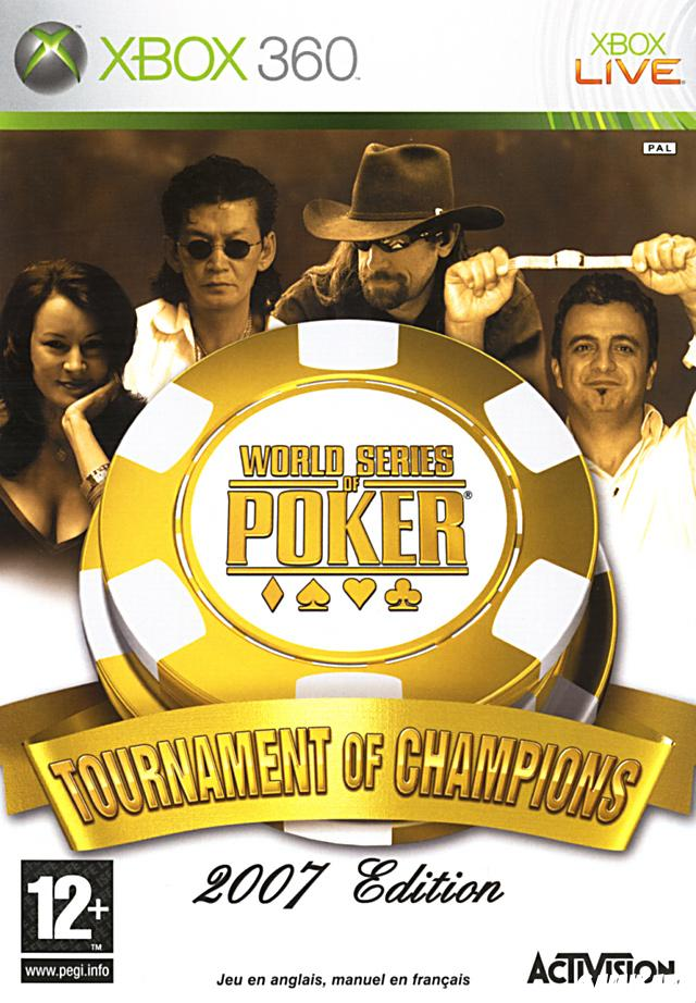 cover World Series of Poker : Tournament of Champions 2007 Edition x360
