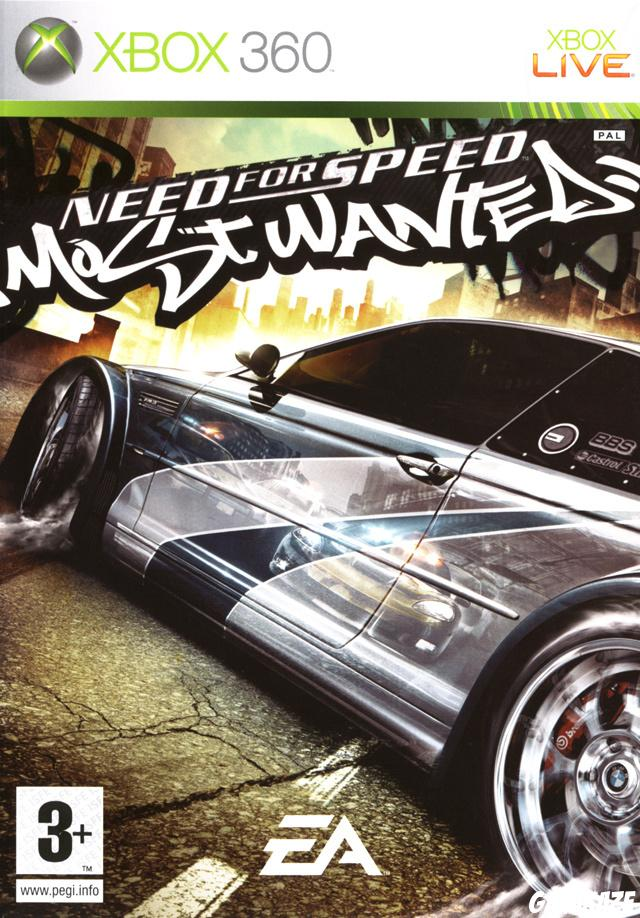 cover Need for Speed : Most Wanted (2005) x360