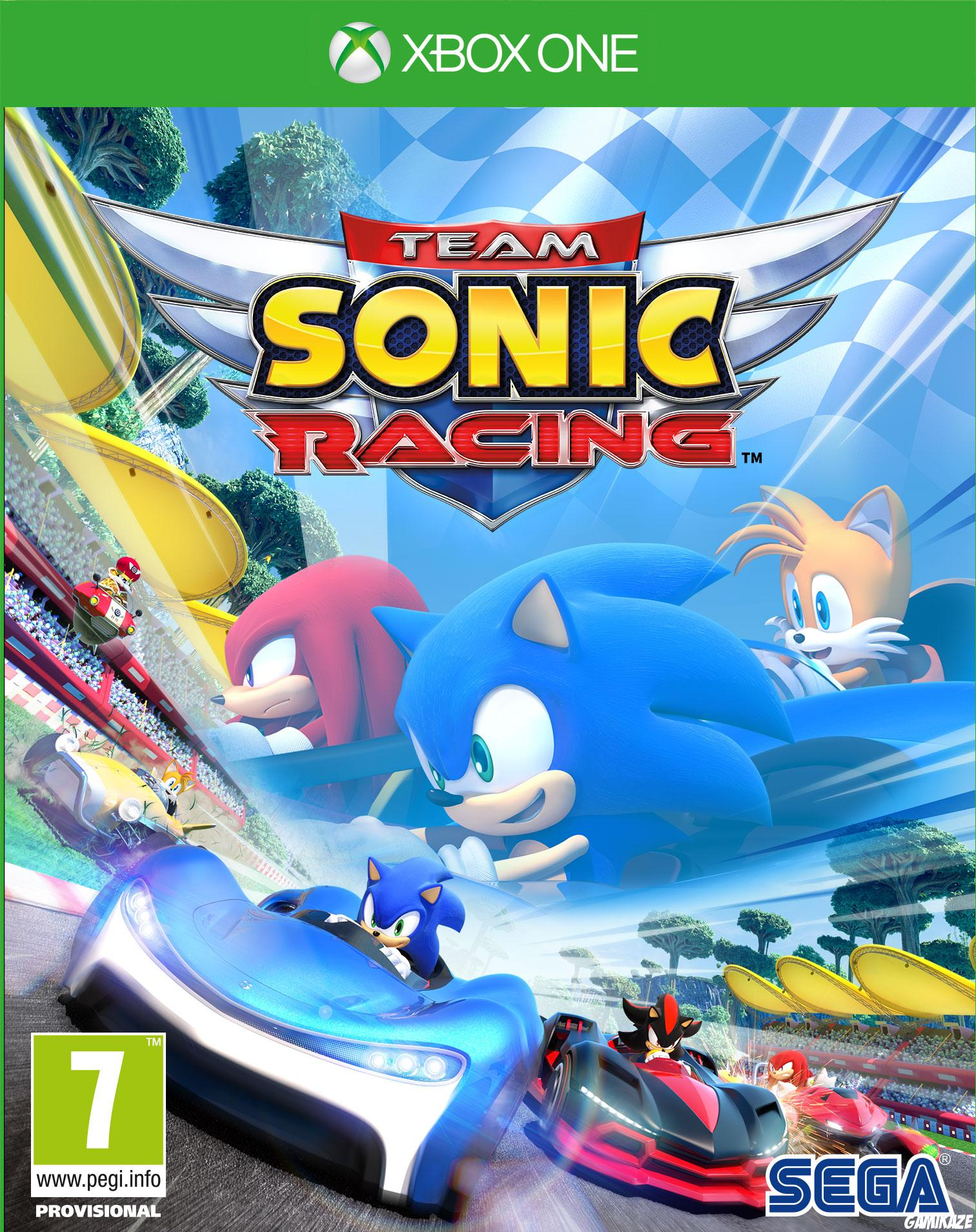 cover Team Sonic Racing xone
