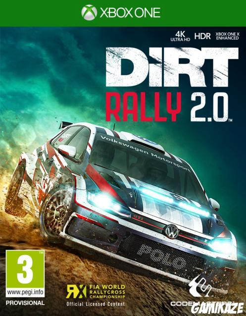 cover DiRT Rally 2.0 xone