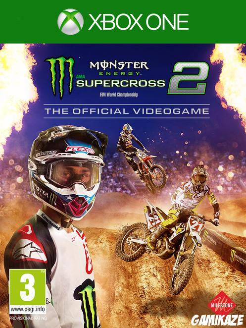 cover Monster Energy Supercross - The Official Videogame 2 xone
