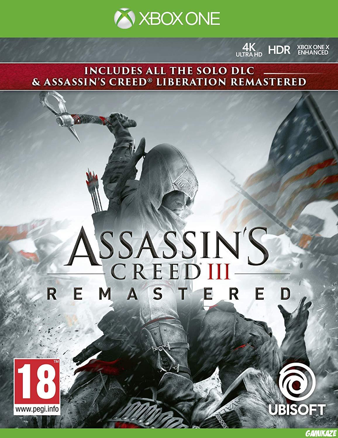 cover Assassin's Creed III Remastered xone