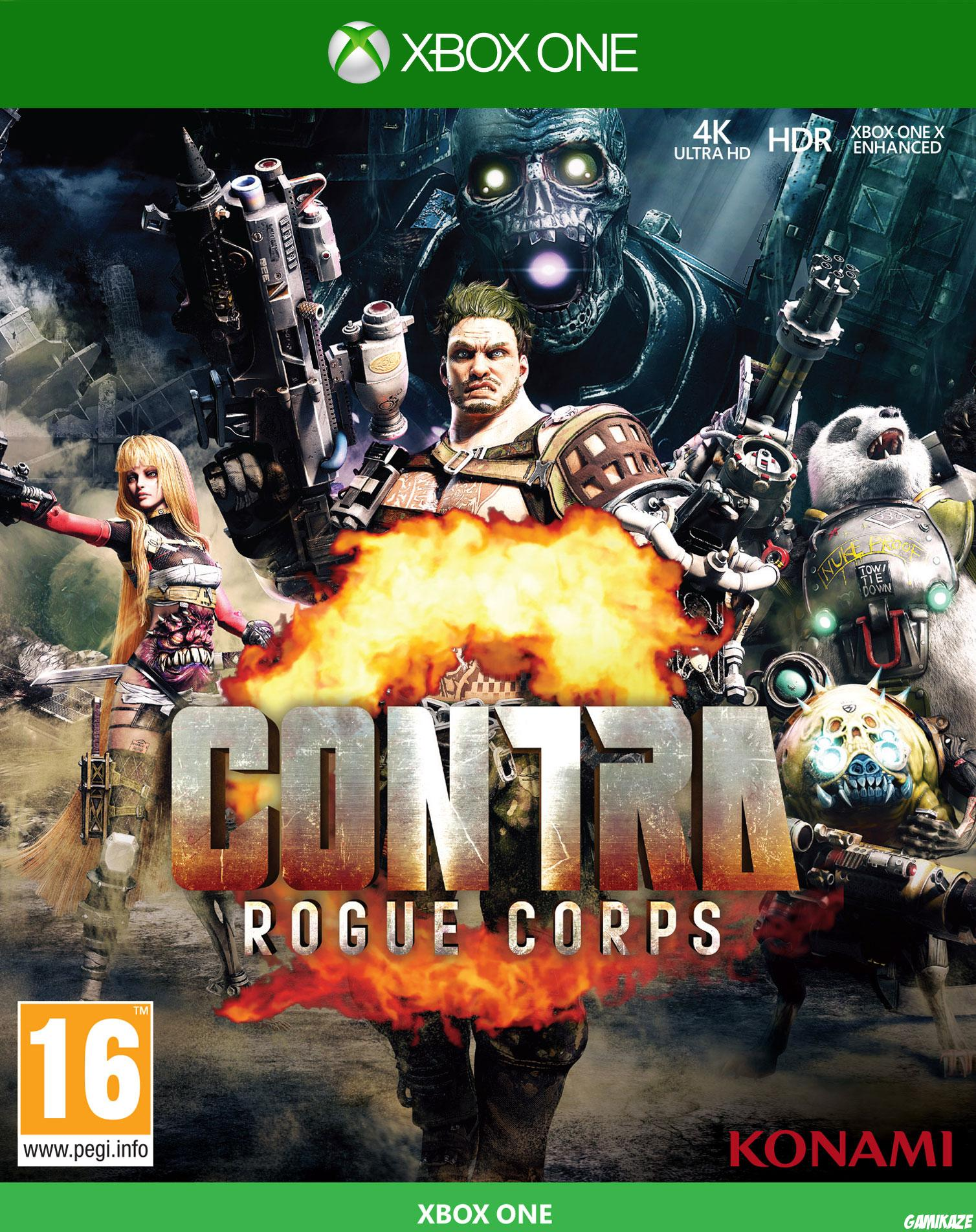 cover Contra Rogue Corps xone