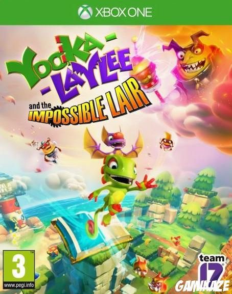 cover Yooka-Laylee and the Impossible Lair xone