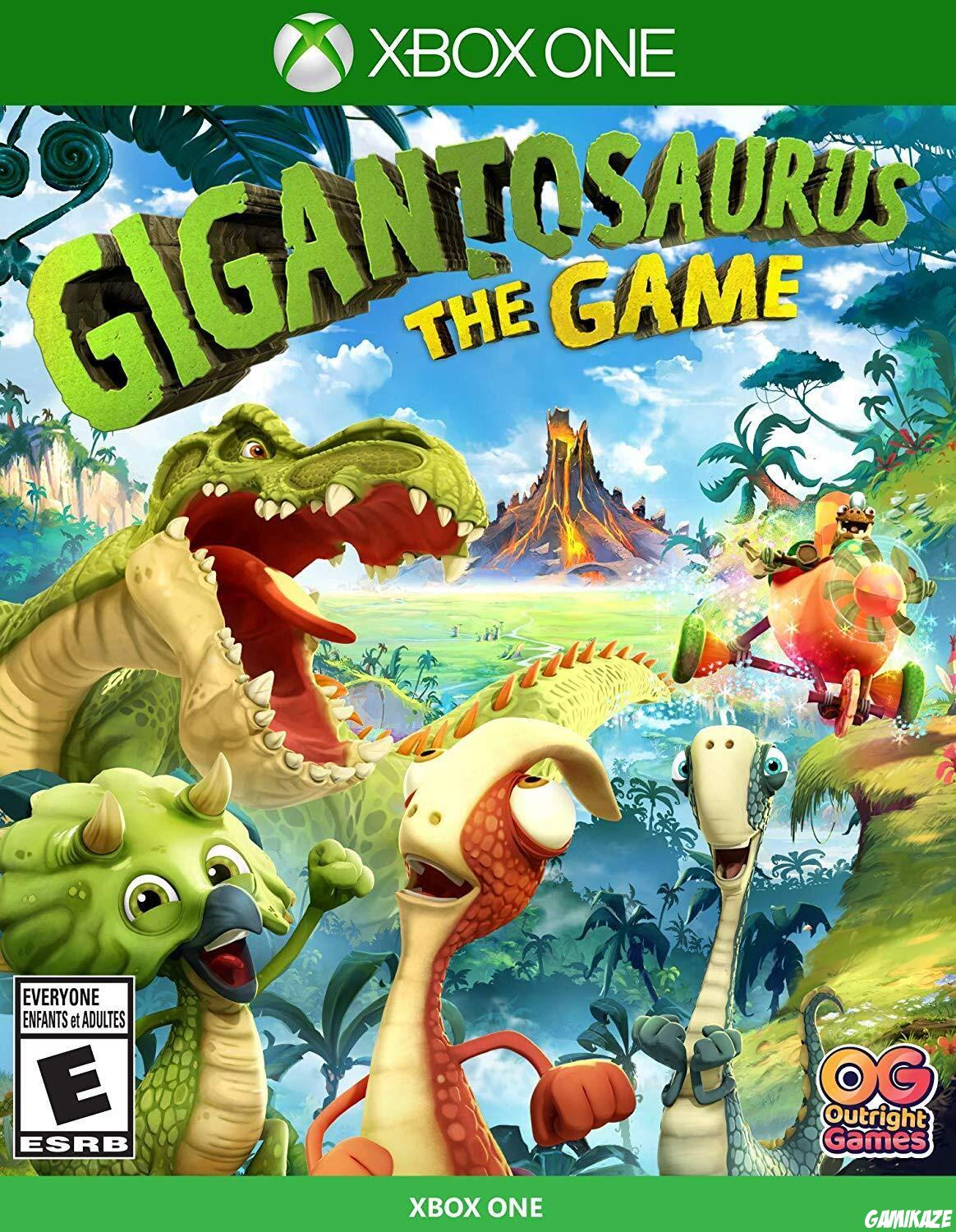 cover Gigantosorus The Game xone